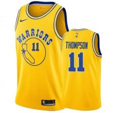 Golden State Warriors &11 Klay Thompson Hardwood Classics Maillot