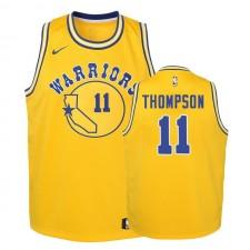 Golden State Warriors Enfants &11 Klay Thompson Hardwood lettres Maillot