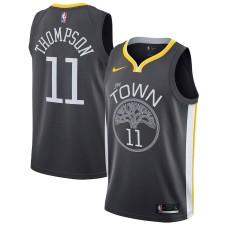 Nike Klay Thompson Golden State Warriors Noir/Bleu Royal Swingman Maillot