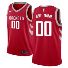 Maillot Nike Houston Rockets Rouge/Noir Swingman Custom