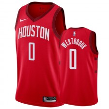Houston Rockets Russell Westbrook &0 A gagné maillot hommes
