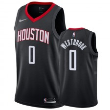 Houston Rockets Russell Westbrook &0 Déclaration Maillot Hommes