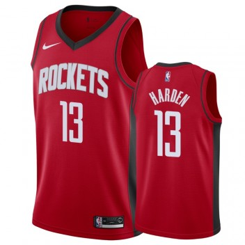 James Harden Houston Rockets #13 2019-20 Icon Hommes Maillot - Rouge