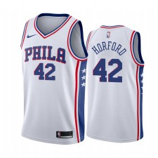 Philadelphia 76ers Al Horford &42 Blanc Association Maillot Homme