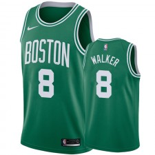 Celtics Kemba Walker 2019-20 bleu Maillot Icône Homme