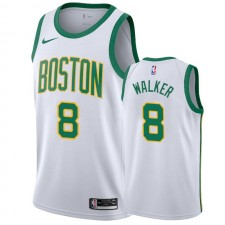 Boston Celtics Kemba Walker 2019-20 Blanc City Maillot