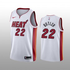 Maillot Miami Heat Jimmy Butler, édition Blanc Swingman Association