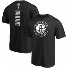 Fanatics de marque Kevin Durant Brooklyn Nets T-shirt noir avec nom et numéro de meneuse de jeu
