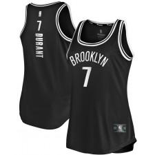 Fanatics de marque Kevin Durant Brooklyn Nets maillot débardeur noir Fast Break pour femmes - Édition Icône