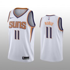 Phoenix Suns Ricky Rubio Blanc Swingman Association édition Maillot