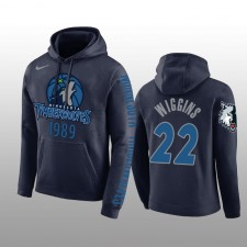 Minnesota Timberwolves & 22 Sweat à capuche bleu marine Andrew Wiggins pour hommes