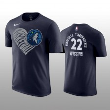 Minnesota Timberwolves &22 Andrew Wiggins Love You Mean It T-chemise