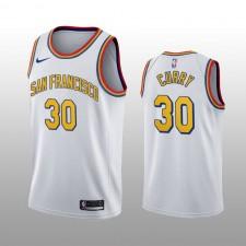 Maillot Stephen Curry Swingman Blanc Édition Classique des Golden State Warriors