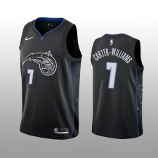 Orlando Magic &7 Michael Carter-Williams Maillot Noir City Homme