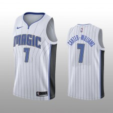 Maillot Hommes Orlando Magic &7 Michael Carter-Williams Blanc Association