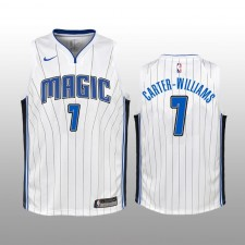 Orlando Magic &7 Michael Carter-Williams Blanc Association Enfant Maillot