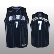 Orlando Magic &7 Michael Carter-Williams Noir Statement Enfant Maillot