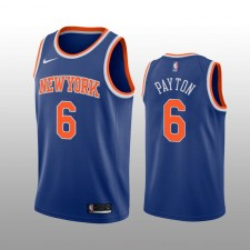 New York Knicks Elfrid Payton Royal Swingman Icon édition Maillot