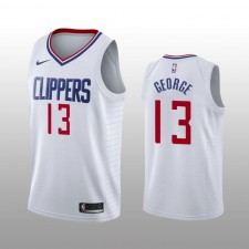 Los Angeles Clippers Paul George blanc Swingman Association édition Maillot