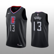 Los Angeles Clippers Paul George Noir Swingman Déclaration édition Maillot