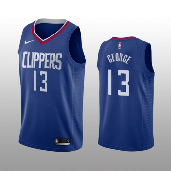Los Angeles Clippers Paul George bleu Swingman icône édition Maillot