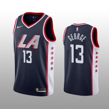 Los Angeles Clippers Paul George marine Swingman City édition Maillot