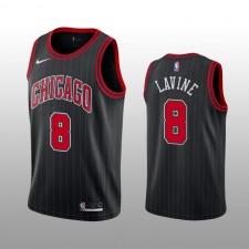 Hommes Zach LaVine Chicago Bulls Maillot 2019-20 Noir Déclaration Édition