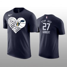 T-shirt Rudy Gobert, l'amour du Utah Jazz & 27