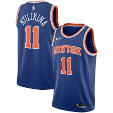 Maillot Nike Frank Frank Ntilikina New York Repliques Swingman - Édition des icônes