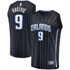 Nikola Vucevic - Maillot de joueur de marque Fast Break Replica Orlando Magic Fanatics - Noir - Icon Edition