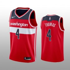 Maillot Isaiah Thomas Washington Sorciers Rouge Icon Edition