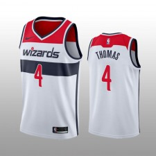 Maillot Isaiah Thomas Washington Wizards Blanc Edition pour Homme