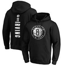 Kyrie Irving Brooklyn Nets Fanatics - Nom et numéro du fabricant de la marque - Pullover à capuche - Noir