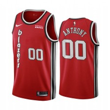 Maillot pour hommes Carmelo Anthony Portland Trail Blazers Édition classique - Rouge