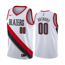 Carmelo Anthony Portland Maillot Trail Blazers Edition Edition pour Homme - Blanc