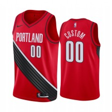 Carmelo Anthony Portland Maillot Trail Blazers Statement Edition - Rouge