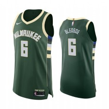 Milwaukee Bucks Eric Bledsoe Authentic Icon Maillot