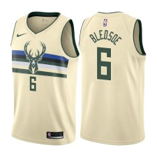 Milwaukee Bucks Eric Bledsoe Cream City Edition Maillot