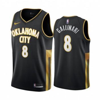 Oklahoma City Thunder, Danilo Gallinari, nouveau maillot d'uniforme de Noir City