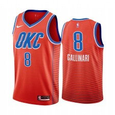 Oklahoma City Thunder - Maillot Orange Danilo Gallinari - Déclaration