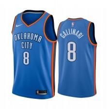 Oklahoma City Thunder Danilo Gallinari - Bleu Maillot d'icônes