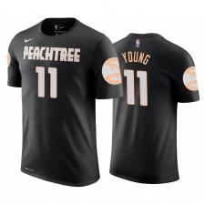 T-Chemise Trae Young Atlanta Hawks 2019-20 City Noir