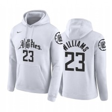 Los Angeles Clippers Lou Williams Blanc City 2019-20 Pull Capuche