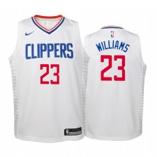 Lou Williams Los Angeles Clippers Blanc Association Maillot - Enfants