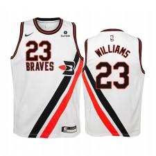Lou Williams Los Angeles Clippers Blanc Hardwood Classiques Maillot - Enfants