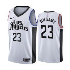 Los Angeles Clippers Lou Williams Blanc 2019-20 City Édition Maillot