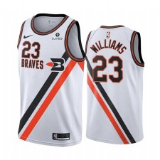 LA Clippers Lou Williams Blanc 2019-20 Classique Édition Buffalo Braves Maillot