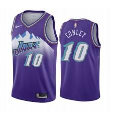Utah Jazz Mike Conley Jr. Purple 2019-20 Hardwood Classiques Maillot - HWC 90S