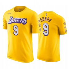 Rajon Rondo Los Angeles Lakers 2019-20 City Or T-Chemise