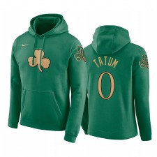 Boston Celtics Jayson Tatum Kelly Green City 2019-20 Sweat à capuche